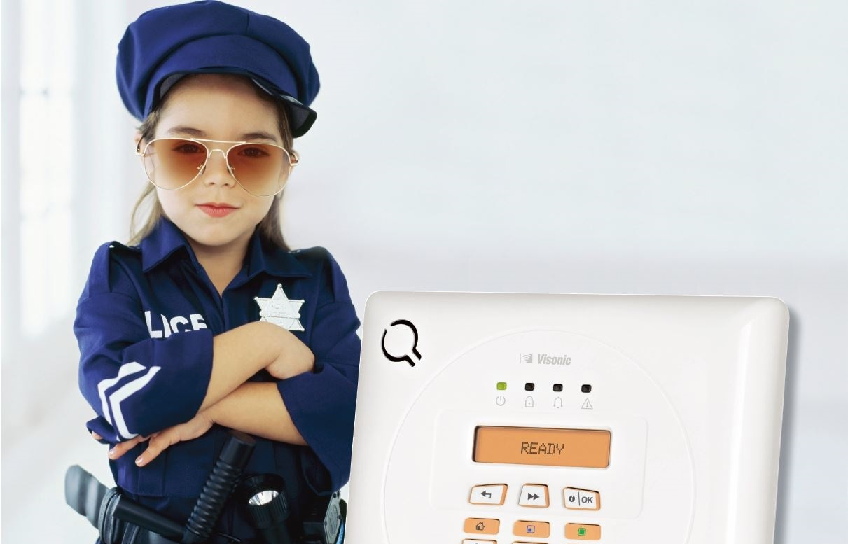Visonic PowerMax Express With Kid