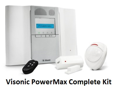 Visonic PowerMax Complete Kit