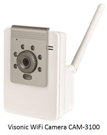 Visonic WiFi Camera CAM-3100
