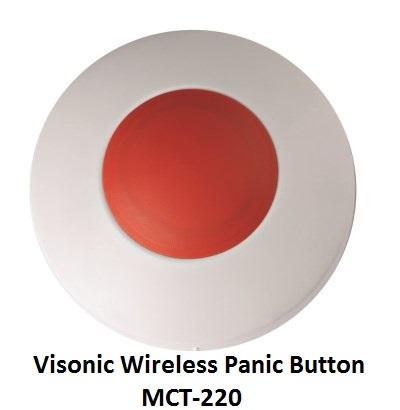 Visonic Wireless Panic Button MCT-220