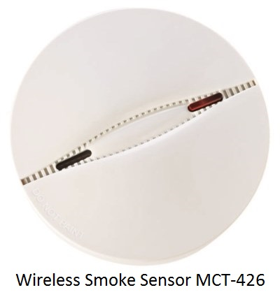 Wireless Smoke Sensor MCT-426